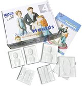 P.M.E. Family of Four People Moulds, Set of 24 Pieces