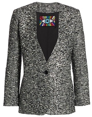 Libertine Sparkle Tweed Blazer