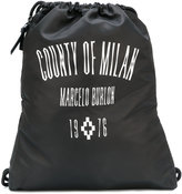 Marcelo Burlon County of Milan Jak Gym drawstring backpack - men - Polyester - One Size
