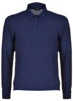 Zanone Long Sleeve Classic Polo Shirt