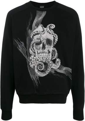 Just Cavalli 'Skull' print sweatshirt
