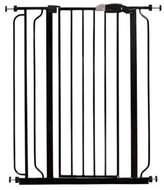 Regalo Easy-Step Extra-Tall Walk-Through Gate in Black