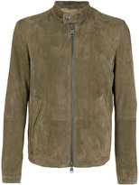 Etro embroidered back jacket - men - Silk/Polyester/Cupro/Goat Suede - M