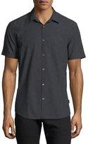John Varvatos Slim Fit Short Sleeve Button