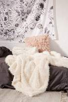 Urban Outfitters Faux Fur Throw Blanket