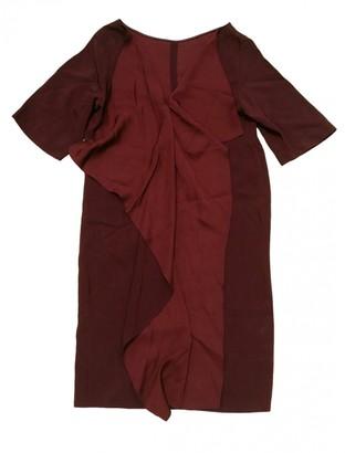 Stella McCartney Burgundy Viscose Dresses