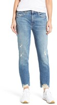 Mother Women's The Flirt High Waist Ankle Straight Leg Jeans