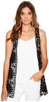 Betsey Johnson Daisy Vest Cover-Up Women's Clothing