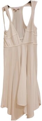 Plein Sud Jeans White Cotton Dress for Women