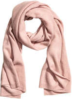 H&M Cashmere Scarf - Powder pink - Ladies