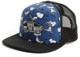 Vans Boy's Classic Patch Trucker Hat - Blue