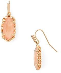 Kendra Scott Macrame Lee Stone Drop Earrings