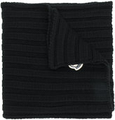 Moncler ribbed scarf - women - Virgin Wool - One Size