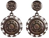 Yochi Disk Medallion Earrings