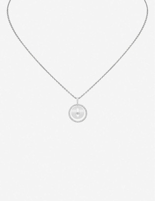 Messika Lucky Move 18ct white-gold and diamond necklace