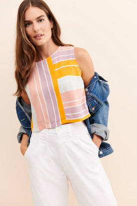 NATIVE YOUTH The Moriz Striped Tank