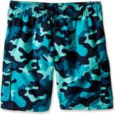 Kanu Surf Men's Big Camo Extended Size Swim Trunks