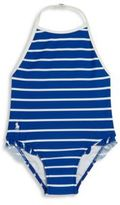 Ralph Lauren Baby's Striped One-Piece Swimsuit