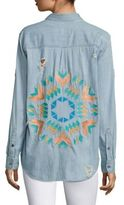 Rails Brett Starburst Embroidery Shirt
