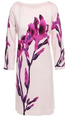 Just Cavalli Floral-print Stretch-jersey Mini Dress
