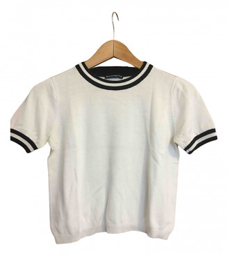 Brandy Melville White Cotton Tops