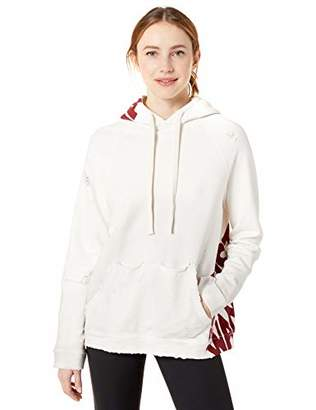 Freecity Women's AW Destroy Holes Heavyweights Pullover Hoodie