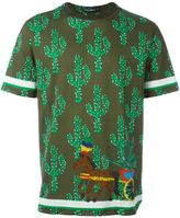 Dolce & Gabbana cactus print T-shirt