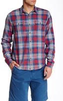 Lucky Brand Jon Plaid Long Sleeve Classic Fit Shirt