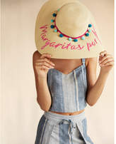 Express margaritas por favor floppy hat