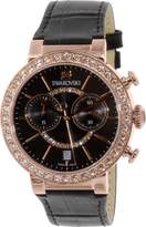 Swarovski Women's Citra 5055209 Leather Swiss Quartz Watch