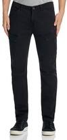 Hudson Solid Slim Fit Cargo Pants