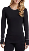 Cuddl Duds SmoothPlush Long-Sleeve Scoopneck Shirt