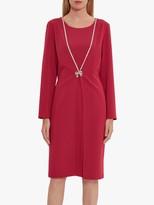 Gina Bacconi Sedona Coat Dress With Brooch