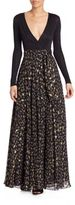 Diane von Furstenberg Aviva Wrap Maxi Dress