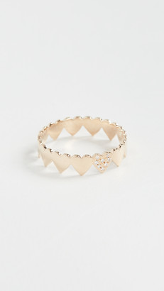 Zoë Chicco 14k Gold Itty Bitty Eternity Heart Ring