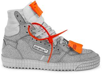 Off-White Off White Off-Court 3.0 Glittered Hi-top Sneakers