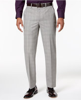 Sean John Men's Classic-Fit Black/White Plaid Suit Pants