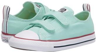 Converse Chuck Taylor(r) All Star(r) 2V Seasonal Ox (Infant/Toddler) (Ocean Mint/White/Ocean Mint) Kids Shoes