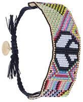 Venessa Arizaga peace symbol bracelet