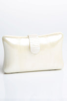 Karen ZAMBOS Rectangle Lucite Clutch