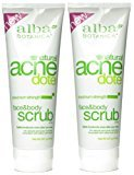Alba ACNEdote Face & Body Scrub, 8 Ounces Tube (Pack of 2)