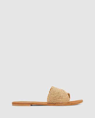 Urge Women's Neutrals Flat Sandals - Delta - Size One Size, 41 at The Iconic