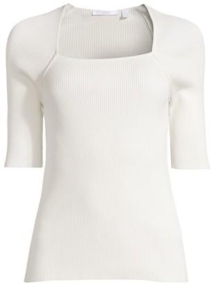 HUGO BOSS Finula Elbow-Sleeve Knit Top
