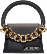 Jacquemus Black 'Le Petit Rond' Clutch
