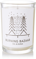 D.S. & Durga Burning Bazaar Scented Candle, 200g - Colorless