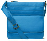 Condura NEW Pocketed Cross Body Bag Blue