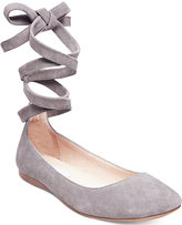 Steve Madden Women's Bloome Lace-Up Flats