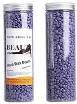 Bluezoo Depilatory Pearl Hard Wax / Brazilian Granules Hot Film Wax Bead For Hair Removal Wax(stripless) ,400g