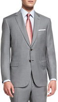Brioni Colosseo Solid Two-Piece Wool Suit, Light Gray