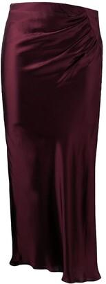 IRO Bias-Cut Slip Skirt